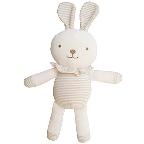 Organic Cotton Baby Plush Toy ( Cute Frill Bunny )