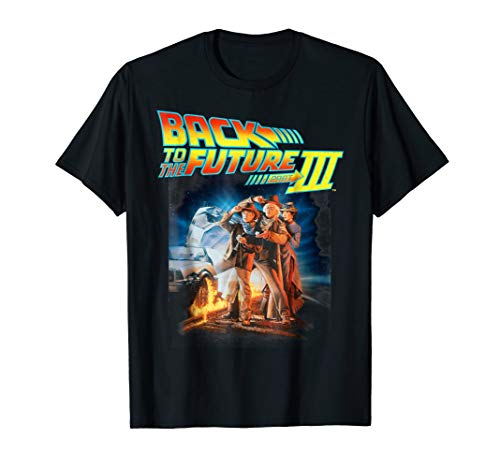 Back To the Future III Movie Poster T-Shirt for Adults or Child