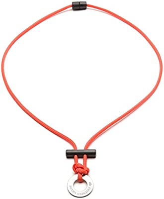 The Friendly Swede Paracord Fire Starter Survival Necklace Ferro Rod Flint and Steel Necklace PR07202-US