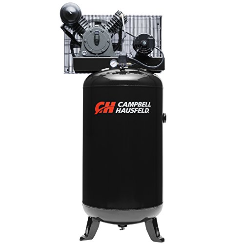 Air Compressor, 80 Gallon Vertical Tank, 2 Stage, 14 CFM, 5 HP,...