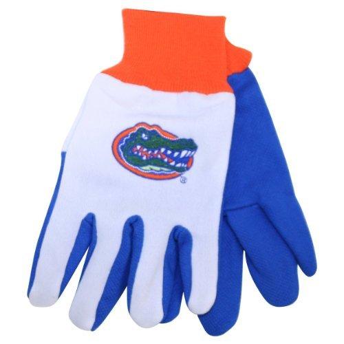 NCAA All Purpose Team Two Tone Utility Grip Gloves (Florida (Florida Gators Tool)