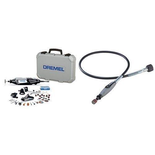 Dremel 4000-4/34 Rotary Tool Kit with Flex Shaft Attachment