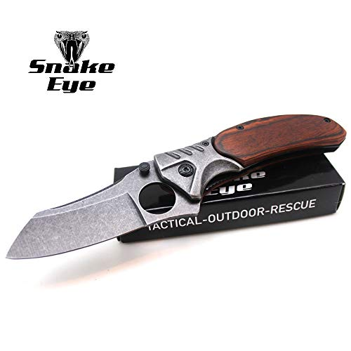 (Snake Eye Tactical Heavy Duty Action Assisted Opening Pocket Knife 4.5