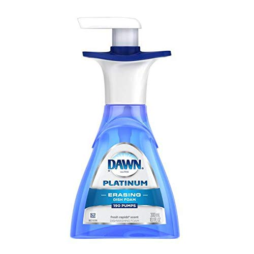 Dawn Direct Dishwashing Foam Hand Soap, Fresh Rapids, 10.1-Ounce Bottles (Pack of - Foam Dishwashing Dawn Direct