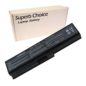 Superb Choice - batería de 6 celdas para portátil TOSHIBA Satellite C650-1CQ C650-1CR C650-1CT C650-1E1