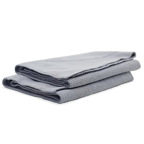 Adam's Microfiber Towels - Kit or Bundle of Towels You Need to Wash, Detail, Dry & Clean Your Paint, Wheels, Glass, Interior, Accessories, Chrome, Windows, Wax, Polish (All Purpose Utility Towel)