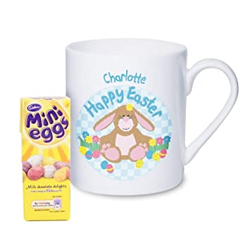 Easter mug with bunny teddy easter gifts and cards teacher easter mug with bunny teddy easter gifts and cards teacher school negle Gallery