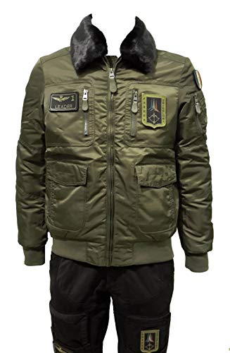 Dark Militare Aeronautica Green Chaqueta Sudadera Ab1676ct Men Pantalones Jacket RfWRO