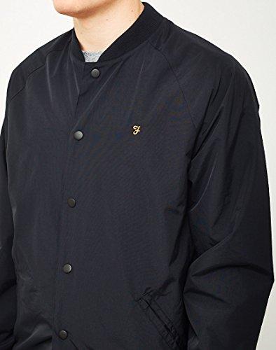 Costilla Bellinger VINTAGE Cuello Negro Negro Chaqueta FARAH fT4qxPOw