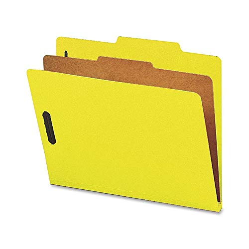 NATSP17204 - Nature Saver 1-Divider Recycled Classification Folders