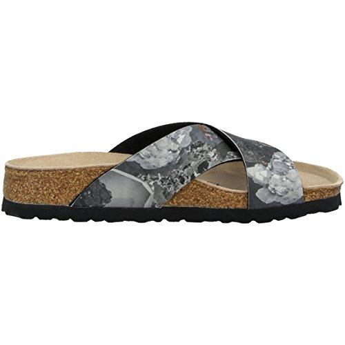 Black pour Mules Crystal 1009094 Papillio Femme 4I5vq