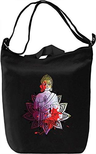 Buda Borsa Giornaliera Canvas Canvas Day Bag| 100% Premium Cotton Canvas| DTG Printing|