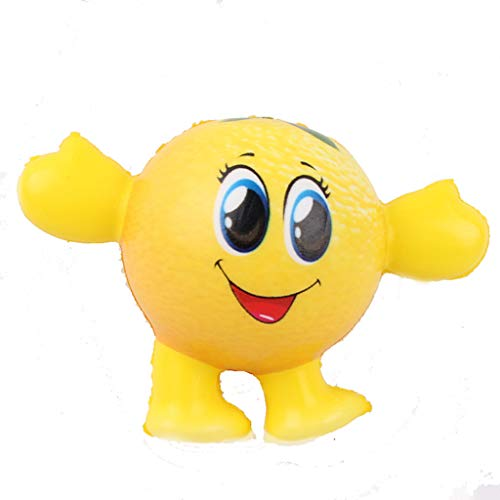 Stress Relief Toys - Mini Adorable Cartoon Fruit - Cream Scented Charm Slow Rising Doll Rebound Toys - Birthday Holiday Party Favors for Kids Adults - Stress Ball (A) -