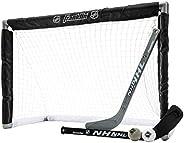 Franklin NHL 28-Inch Mini Hockey Goal Set, white