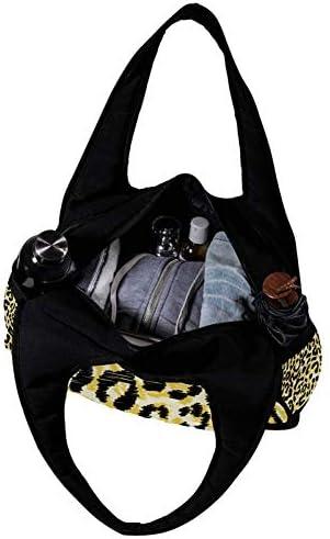 ボストンバッグ 豹柄 レオパード ダッフルバッグ レディース ジムバッグ 肩掛け 手提げ スポーツバッグ 修学旅行 合宿 バッグ