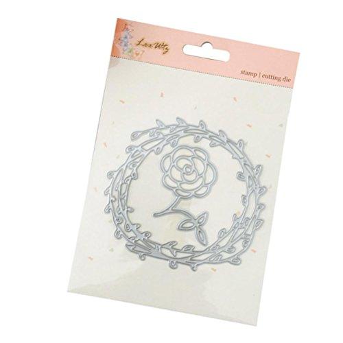 - Card Making Dies Cutting Metal,iHPH7 Stencils for DIY Scrapbooking Photo Album Paper Gift M-440