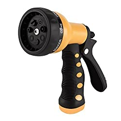 Etronic Heavy Duty Garden Hose Nozzle Spray Nozzle Hand Sprayer
