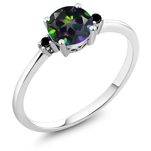 Diamond Accent 3 Stone Ring - 8