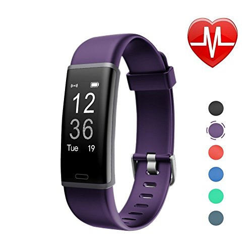 LETSCOM Fitness Tracker, Activity Tracker Heart Rate Monitor, Sleep Monitor, Step Counter, Calorie Counter, Waterproof Pedometer Watch Kids Women - Sleep Tracker Activity
