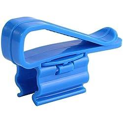 ZEROYOYO 2Pcs Multifunction Plastic Aquarium Tank Water Pipe Tube Clamp Hose Rod Fixing Clip Mount Holder