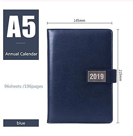 Cuaderno Calendario anual Calendario Bullet Diario ...