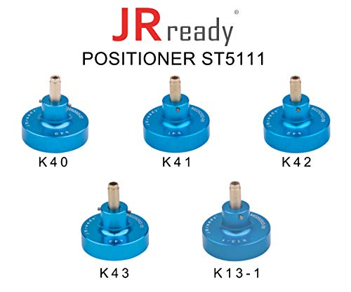 (JRready Positioner Kit for AMP Circular Connectors, Positioners used for crimping contacts of Amphenol,CW Industries,TE Electronics connectors,ST5111: K40+K41+K42+K43+K13-1 positioners)