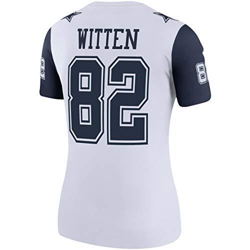 Intuit Fast Women Jason_Witten_82_White1 Fans Replica Jersey Sportswear Custom Football Game Limited Elite Legend Jerseys ()