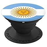 Argentina Argentinian Flag Bandera de Argentina - PopSockets Grip and Stand for Phones and Tablets