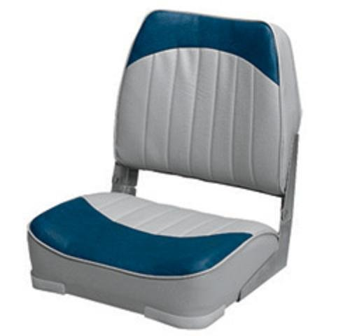 Wise Economy Low Back Seat (Grey/Blue)