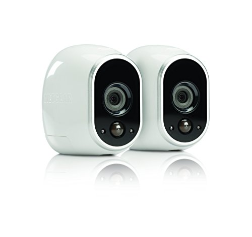 Arlo Security System by NETGEAR - 2 Wire-Free HD Cameras, Indoor/Outdoor, Night Vision (VMS3230) - Old Version by NETGEAR
