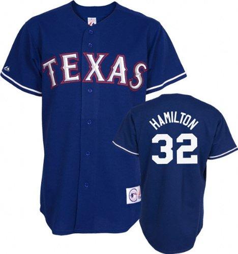 buy popular 1d980 9aa42 Amazon.com : Josh Hamilton Royal Majestic MLB Alternate ...