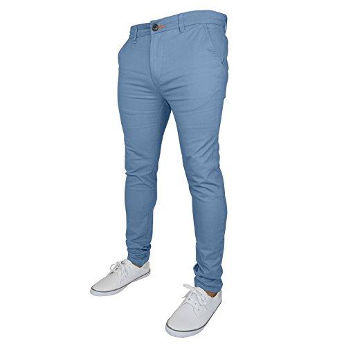 Skinny Westace Blue Ice Uomo Jeans YROO1qZz