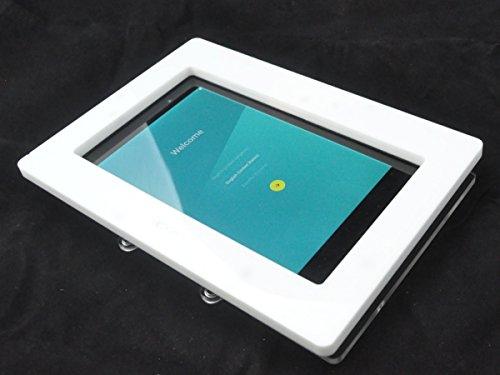 Nexus 9 White Acrylic VESA Security Enclosure with Wall Mount Kit