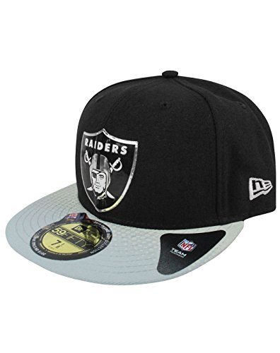 New Era 59Fifty NFL Oakland Raiders Draft Cap (7) (Draft Cap Raiders)