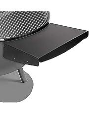 Denmay Grillbordshylla för 57 cm Weber Master Touch & original vattenkokare kolgrillar, ersätter Weber Grill sidohylla, BBQ-bord fälls ihop för att förvara inuti grillen, vattenkokare kolgrilldelar