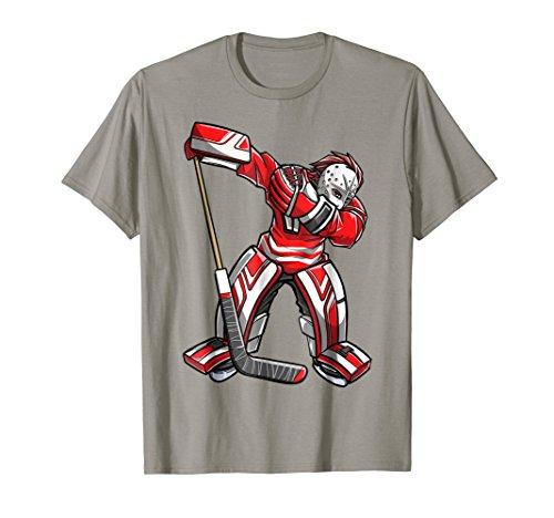 - Dabbing Ice Hockey T Shirt Funny Dab Squad Boys Kids Gifts