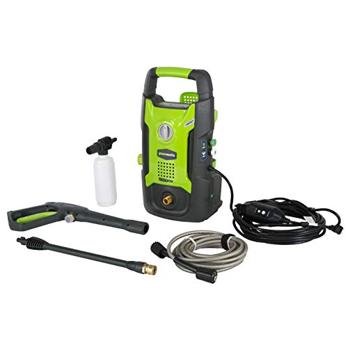 8. Greenworks 1600 PSI Pressure Washer