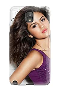 New Design Shatterproof XpIRsZc3474ouaOQ Case For Galaxy Note 3 (selena Gomez 101)