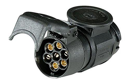 HELLA 8JA 005 952-013 Adapter fü r Steckdose, 91 mm Kabellä nge, bei 12 V Belastung 16 A Hella KGaA Hueck & Co.