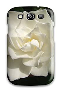 Amanda W. Malone's Shop New Style 7460113K82088732 Case Cover For Galaxy S3 - Retailer Packaging White Flowers Protective Case