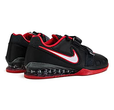 Nike Romaleos 2 Power Lifting Shoes - Black/White/Anthracite/Red (4)