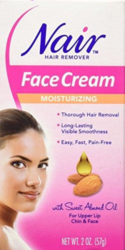 Nair Hair Remover Face Cream 2 Ounce (59ml) (6 Pack)