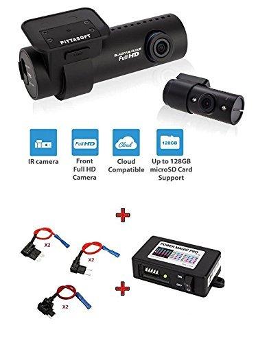 BlackVue DR650S-2CH-IR 16GB Bundle with Power Magic Pro + Fuse Taps, Built-in Wi-Fi, GPS, G Sensor, IR, Cloud, Full HD