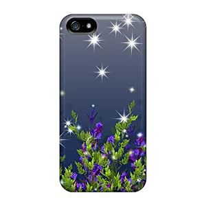 New Arrival Iphone 5/5s Case Wild Night Blooms Case Cover