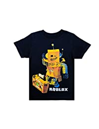 Roblox Clothes Roblox Tshirt for Boys in Black - 100% Cotton