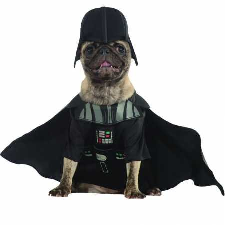 Rubie's Star Wars Collection Pet Costume, Small, Darth Vader -