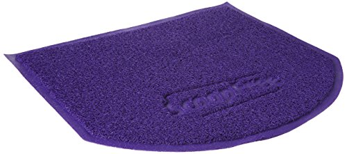PetSafe ScoopFree Anti-Tracking Cat Litter Box Mat, Purple