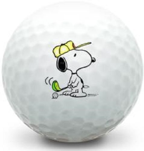 36 - 3 DOZEN (Snoopy Logo) Callaway Mint AAAAA Golf Balls #1 Ball In Golf
