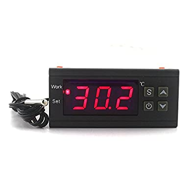 KETOTEK Digital Temperature ControllerAC 110 220V 10A Thermostat Regulator -50~110C Heating Cooling Control Relay