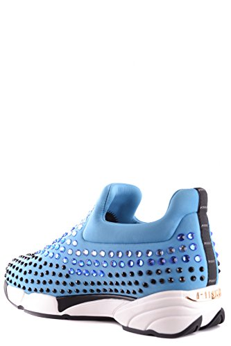 Zapatillas Mujer Claro Pinko Mcbi242218o Azul Poliamida Slip on dXBdqfwA